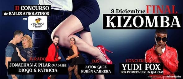 Final de Kizomba en Palmera Playa!