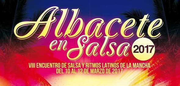 Fiesta presentación del VIII Encuentro Albacete en Salsa 2017 en Albasit.