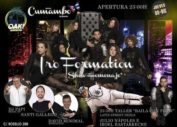 "Cumambo Jueves 8 - Show Iro Formation ""Homenaje"""