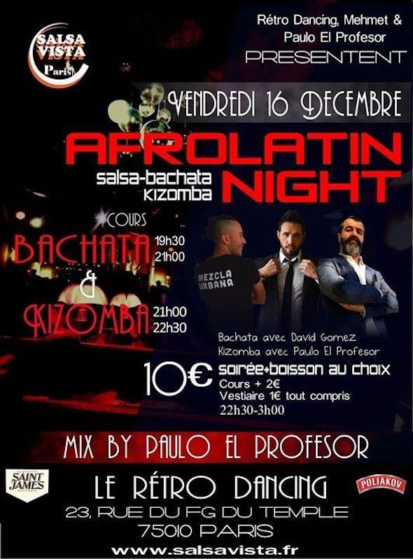 Afro Latin Night Salsa/Bachata/Kizomba