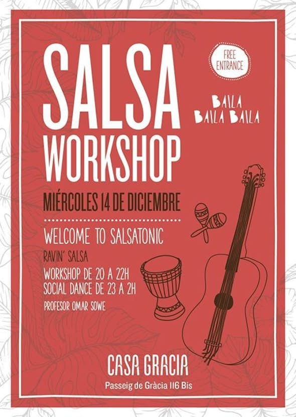 Salsa Workshop (Free entrance) Welcome to Salsatonic