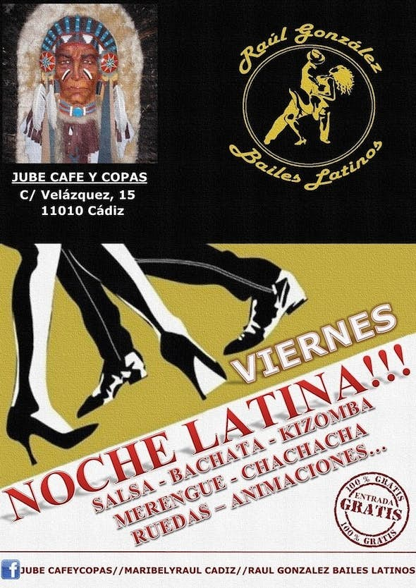 Latin fridays at Jube Cafe y Copas