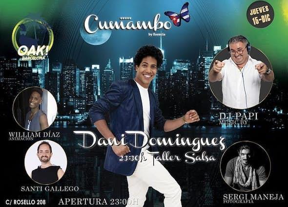 "Jueves 15 - Dj Papi ""in da house"". Taller Dani Dominguez."
