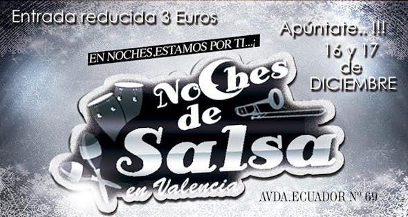 Noches De SALSA 16 Y 17 DIC.Entrada reducida 3€ +consumición