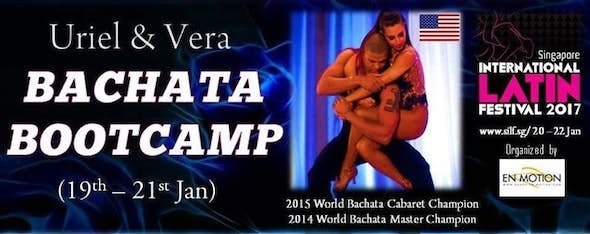 Bachata Bootcamp by Uriel & Vera 2017
