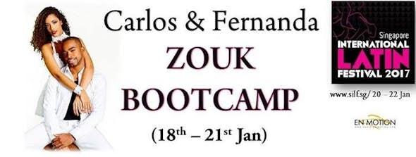 Zouk bootcamp by Carlos & Fernanda