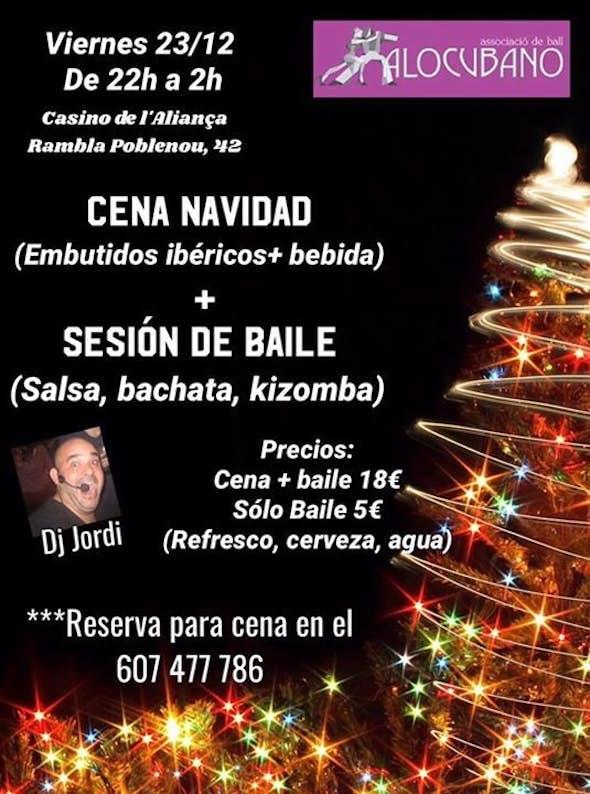 Cena + Baile Navidad