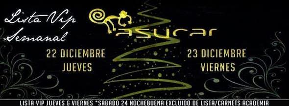 LISTA VIP Thursday 22 Friday 23 Diciembre