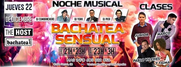 Bachatea Sensual The Host 22/12
