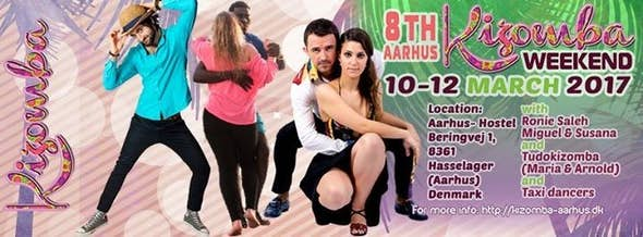 8th Aarhus Kizomba Weekend 2017
