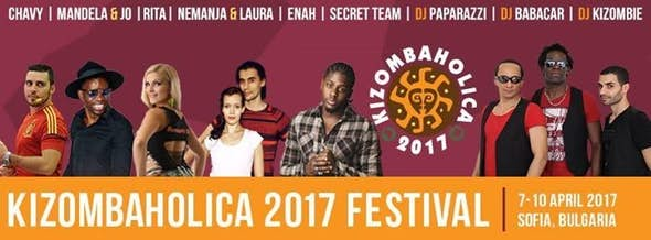 KizombaHolica Festival - Sofia, Bulgaria, 6-9 April 2017