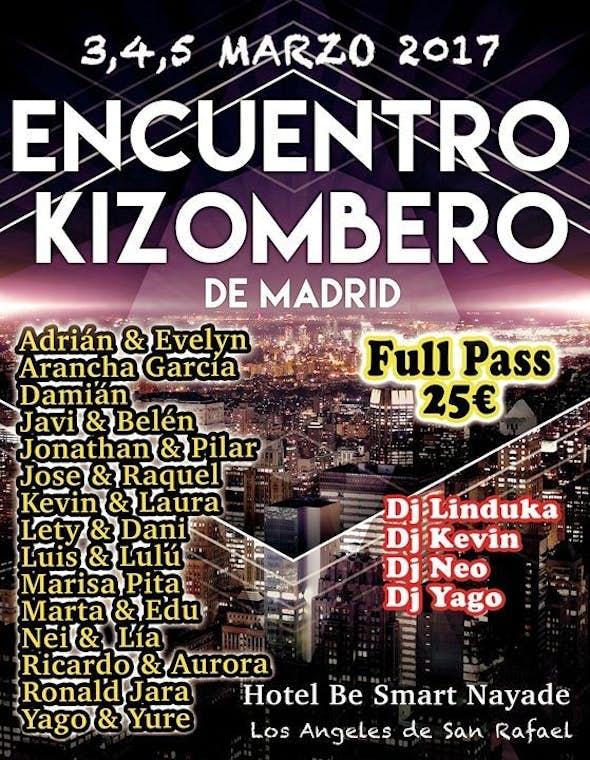 Encuentro Kizombero of Madrid 2017