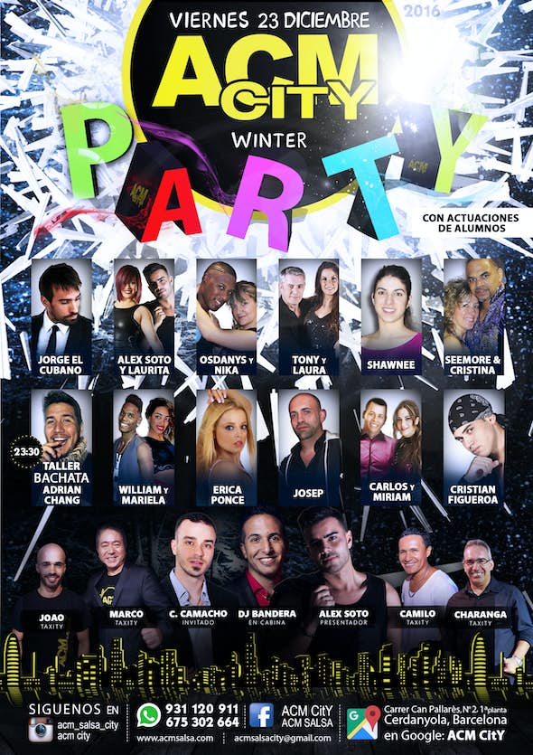 Viernes, 23: WINTER PARTY