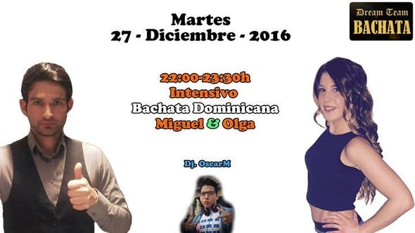 Intensivo de Bachata Dominicana by Miguel & Olga