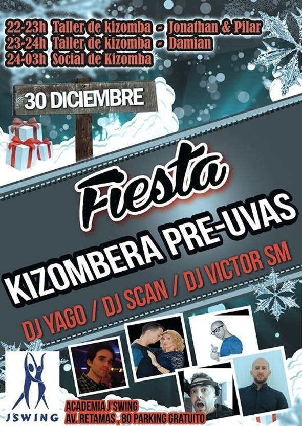 Party Kizombera Pre-Uvas (30 of december)