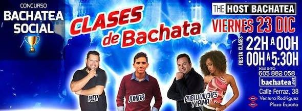 Friday 23/12 Bachatea The Host