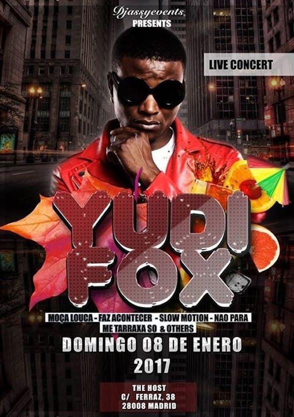 Live Concert Yudi Fox - TheHost KizombaBisú - Sunday 8th January