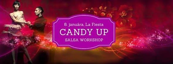 CANDY UP - Salsa Workshop a Tančiareň