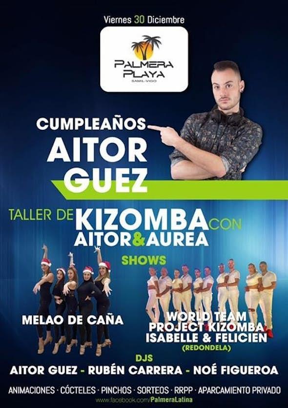 Cumpleaños Aitor Guez en Palmera Playa!