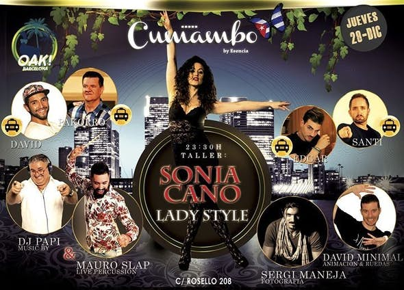 Cumambo Thursday 29 - Workshop of Sonia Cano
