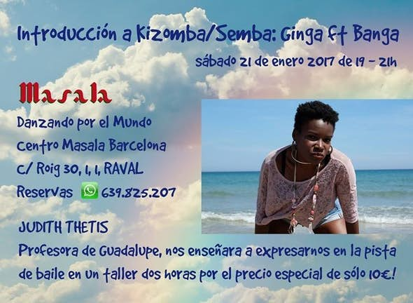 Introduction to Kizomba & Semba: Ginga ft Banga