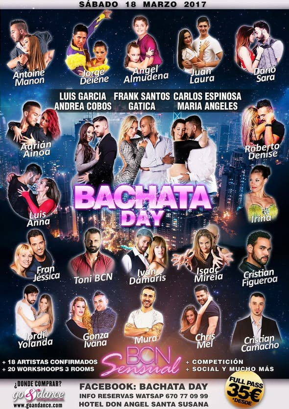BACHATA DAY by BCN SENSUAL 2017 (2nd Edition)