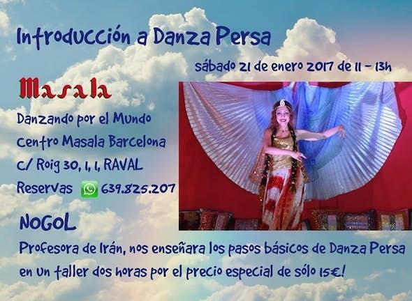 Introducción a Danza Persa