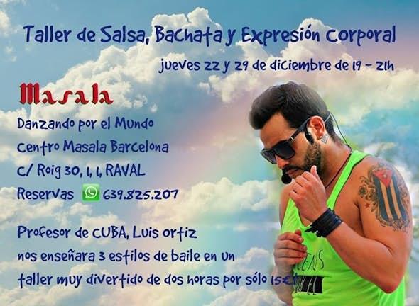 Clase 2: Salsa, Bachata y Expresion Corporal - Luis Ortiz (Cuba)