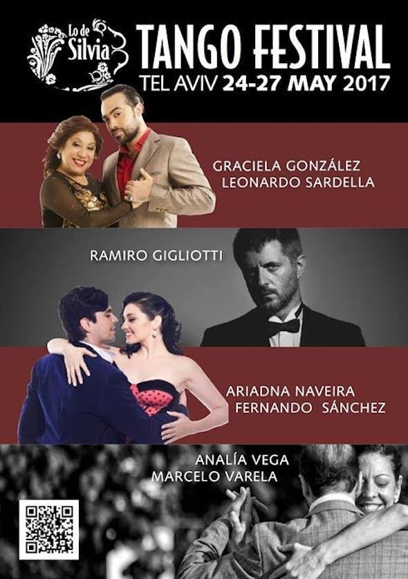 Lo de Silvia Tango Festival - Tel Aviv 2017