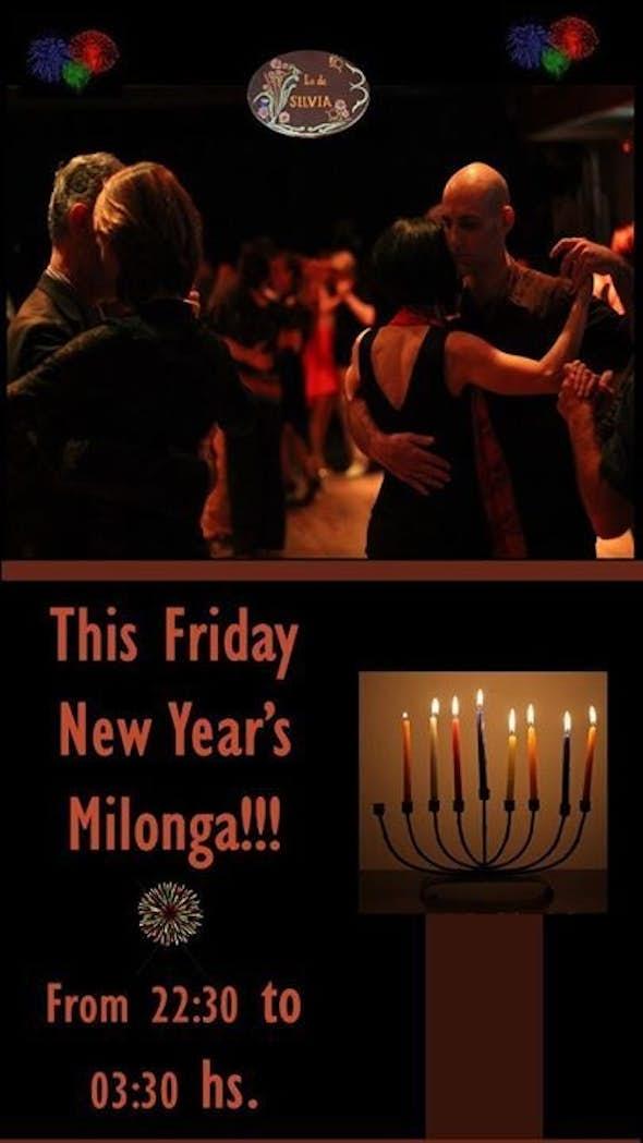 This Friday ~ New Year's Milonga at Bikurei Haitim