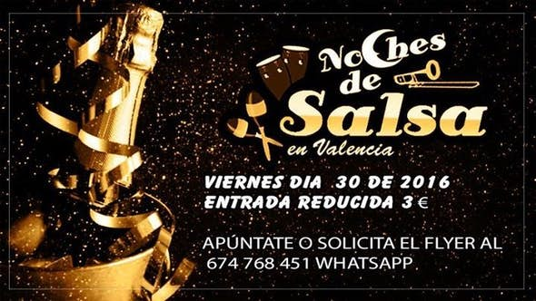 Noches De Salsa Viernes 30 Entrada Reducida 3 €