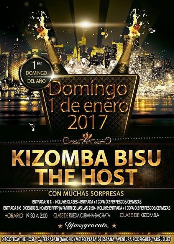 Año Nuevo en The Host Kizomba Bisú