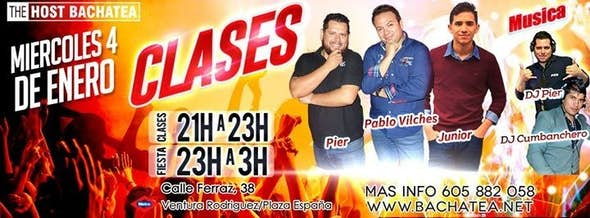 Miercoles 04/01 Bachatea The Host