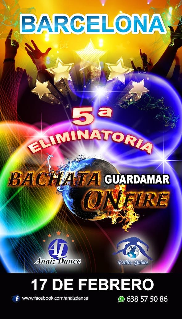 BACHATA ON FIRE - 5th tie in Barcelona