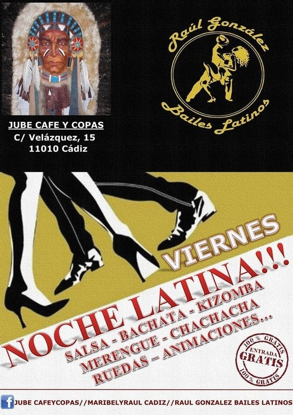 Latin Fridays at Jube Cafe y Copas