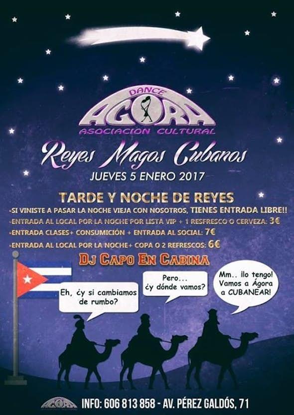 Especial noches de reyes cubanos en Agora Salsa Valencia