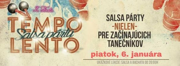 TEMPO LENTO - ukážkové lekcie & párty - DJ IKO
