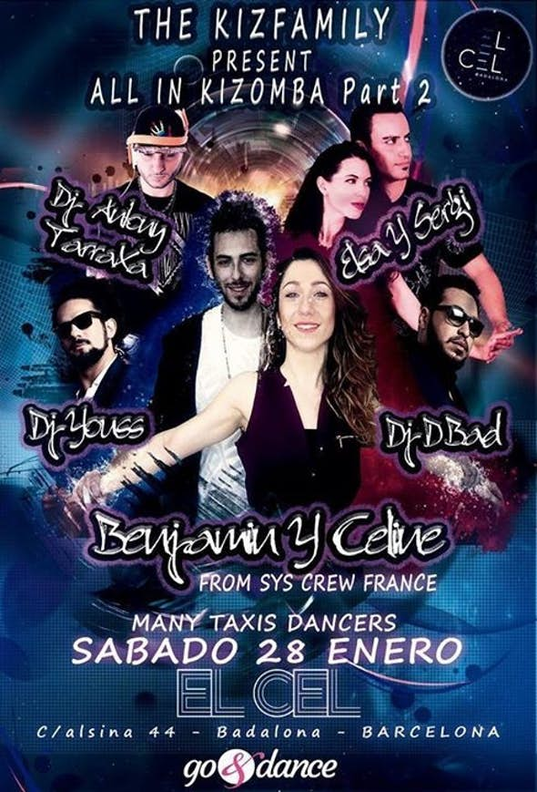 Kizfamily Barcelona 28 ENERO - Kizomba All In Part 2