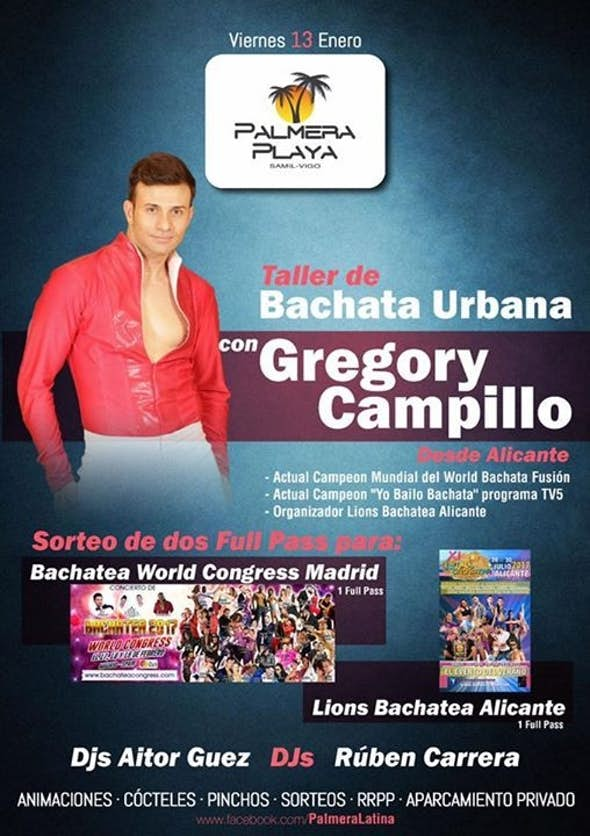 Bachata Urbana with Gregory Campillo in Palmera Playa!