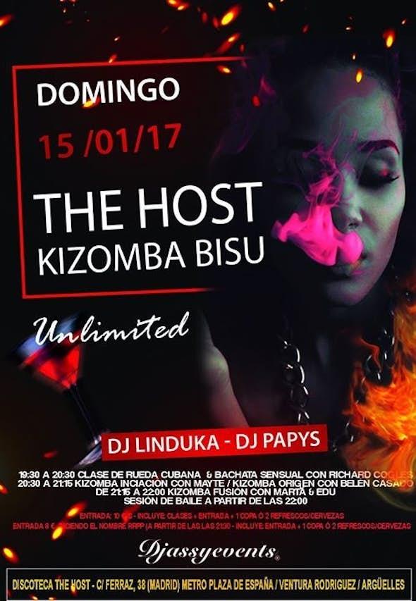 ★The Host Kizomba Bisú★ Domingo 15 de enero de 2017