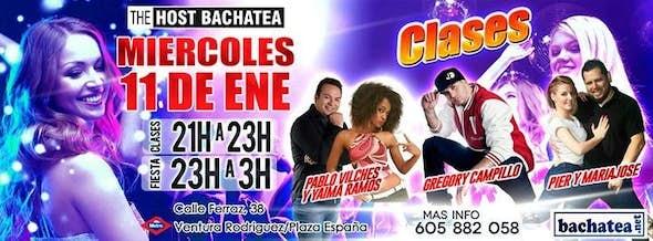Miercoles 11/01 Bachatea The Host