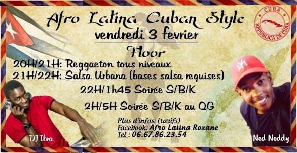 Afro Latina Cuban Style