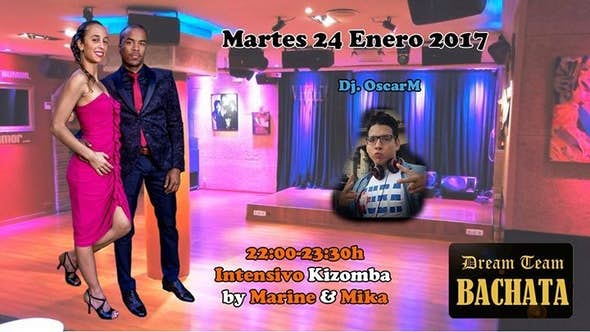 Intensivo de Kizomba by Marine & Mika