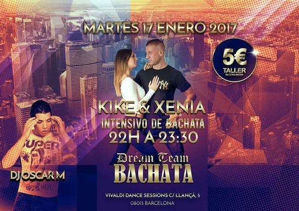 Bachata workshop by Kike & Xenia
