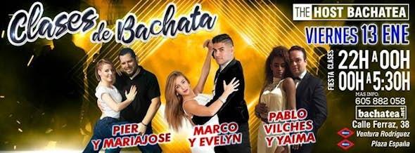 Friday 13/01 Bachatea The Host