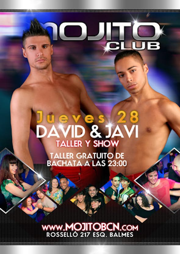 Free bachata workshop + David&Javier show