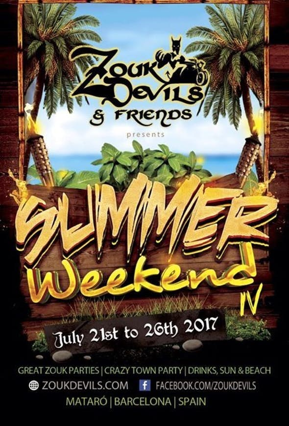 Zoukdevils & Friends Summer Weekend 2017 (4th Edition)