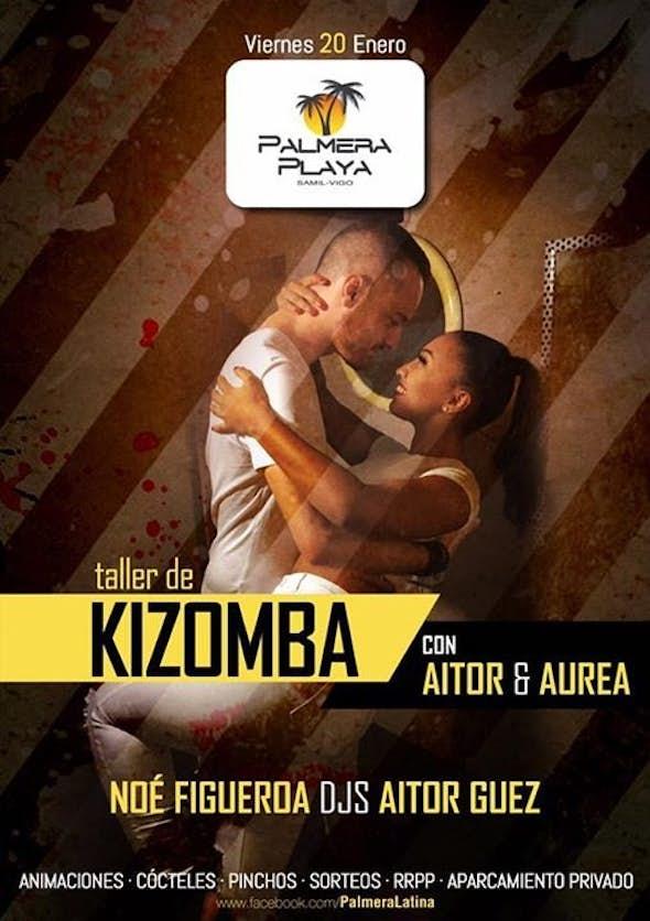 Taller de Kizomba con Aitor & Aurea en Palmera Playa