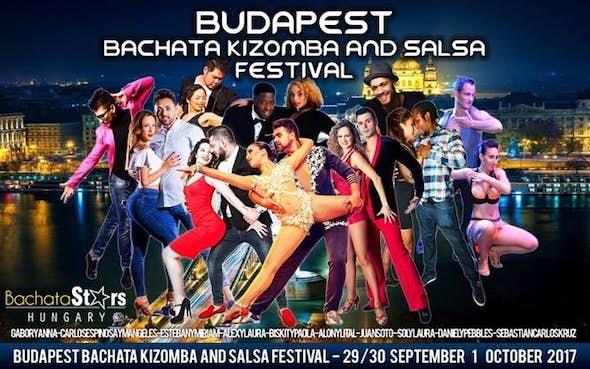 Budapest Bachata Kizomba and Salsa Festival 2017 (2nd Edition)