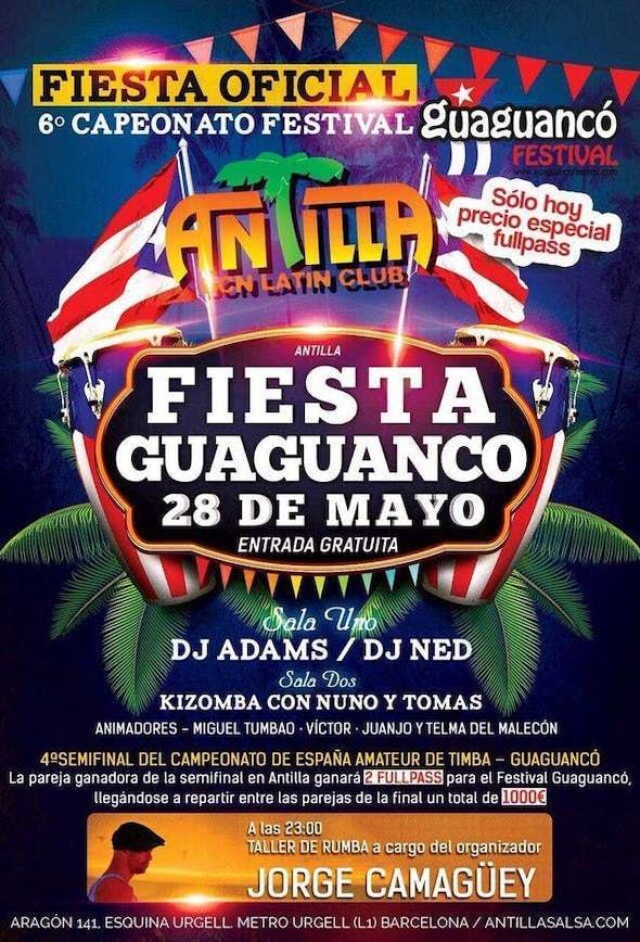 Fiesta Guaguancó en Antilla